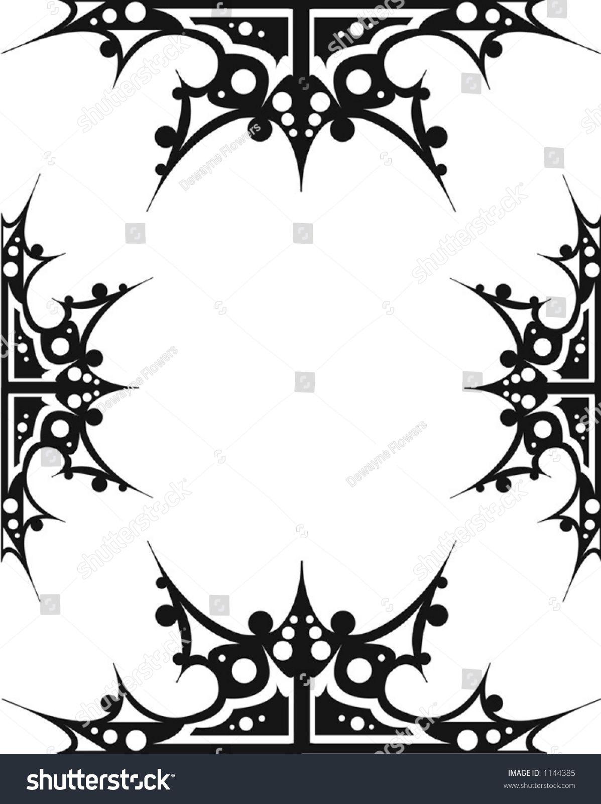 Gothic borders clipart transparent stock Image result for gothic border design   Career and Portfolio ... transparent stock