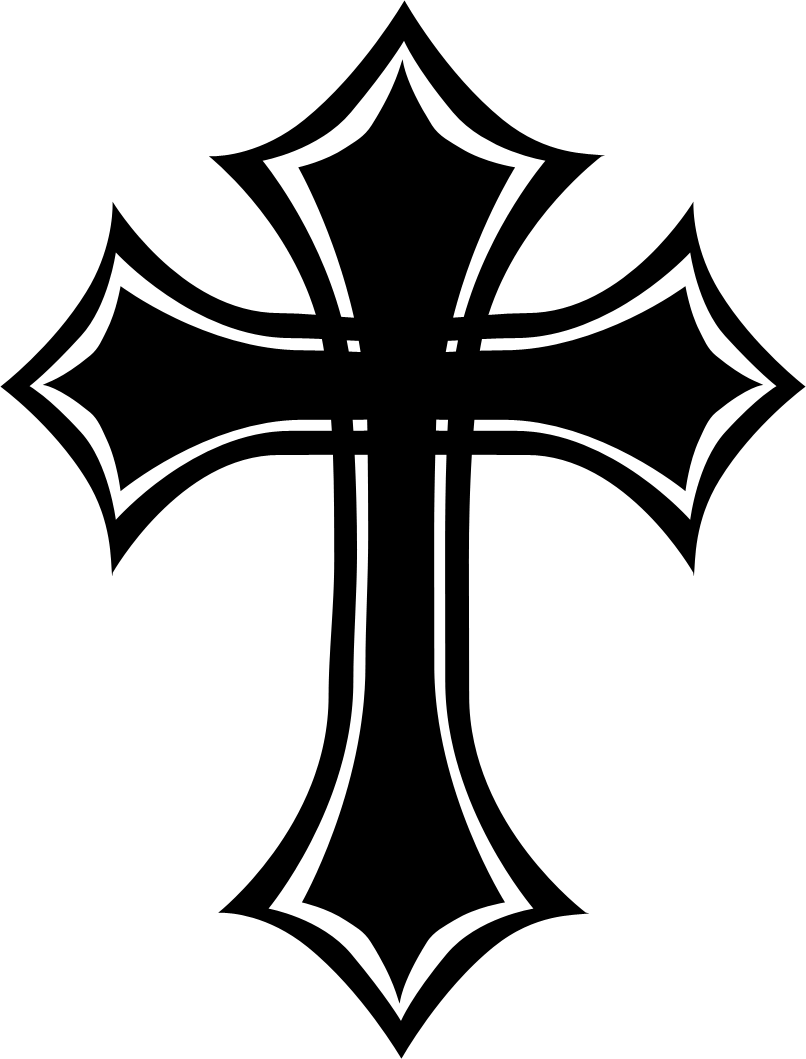 Gothic cross clipart clip royalty free library Schedule for Holy Week – Trinity Lutheran Church clip royalty free library