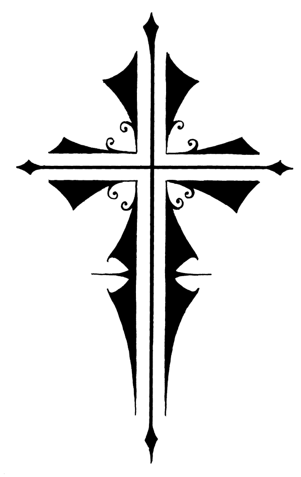 Gothic cross clipart png royalty free download Cross Gothic Tattoo transparent PNG - StickPNG png royalty free download