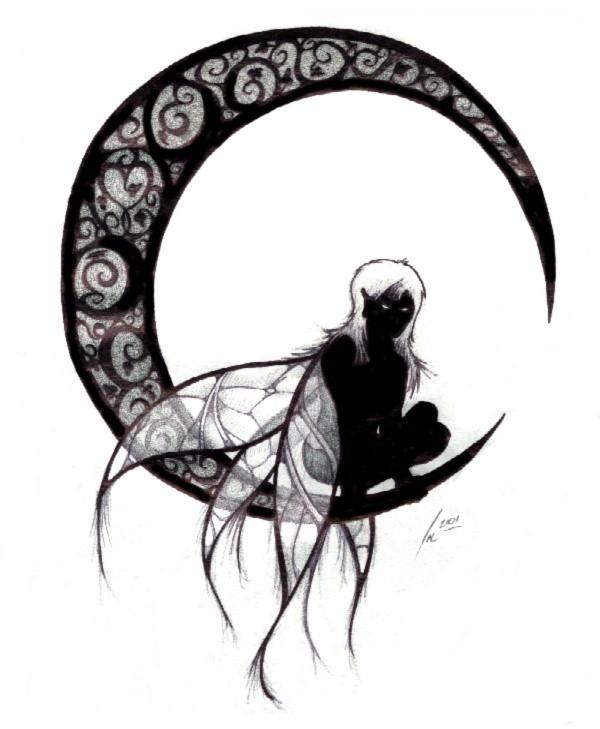 Gothic Fairy Clipart - Clip Art Library svg transparent