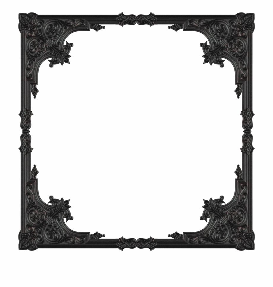 Gothic frames clipart png stock Amazing Picture Frame - Gothic Vector Frame Free Free PNG Images ... png stock