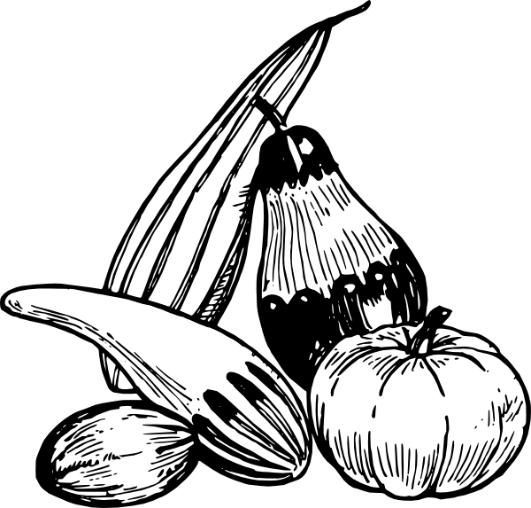 Gourd clipart black and white svg freeuse download Gourd clip art - Clip Art Library svg freeuse download