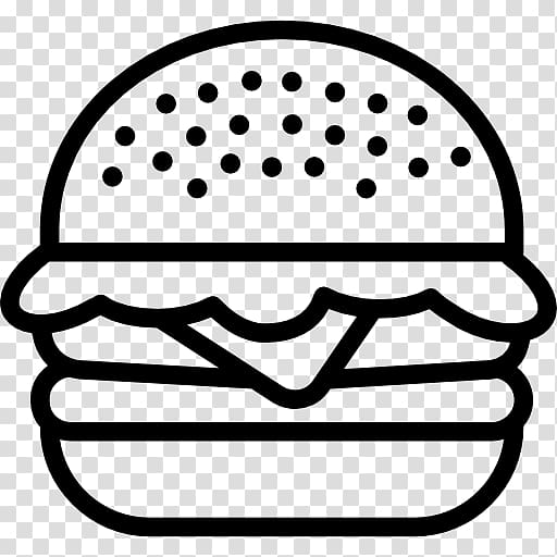 Gourmet burgers black and white high res clipart clip art freeuse library Hamburger button Fast food Junk food Computer Icons, junk food ... clip art freeuse library