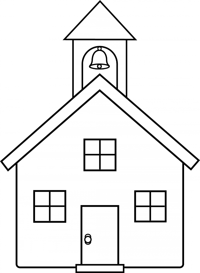 Mission house clipart jpg royalty free Pictures Of School House Image Group (76+) jpg royalty free