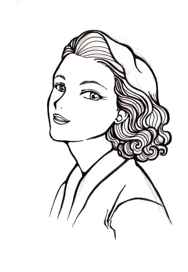 Grace kelly clipart png black and white stock Agatha Christie Grace Kelly Corazon Aquino Margaret Mead Queen ... png black and white stock