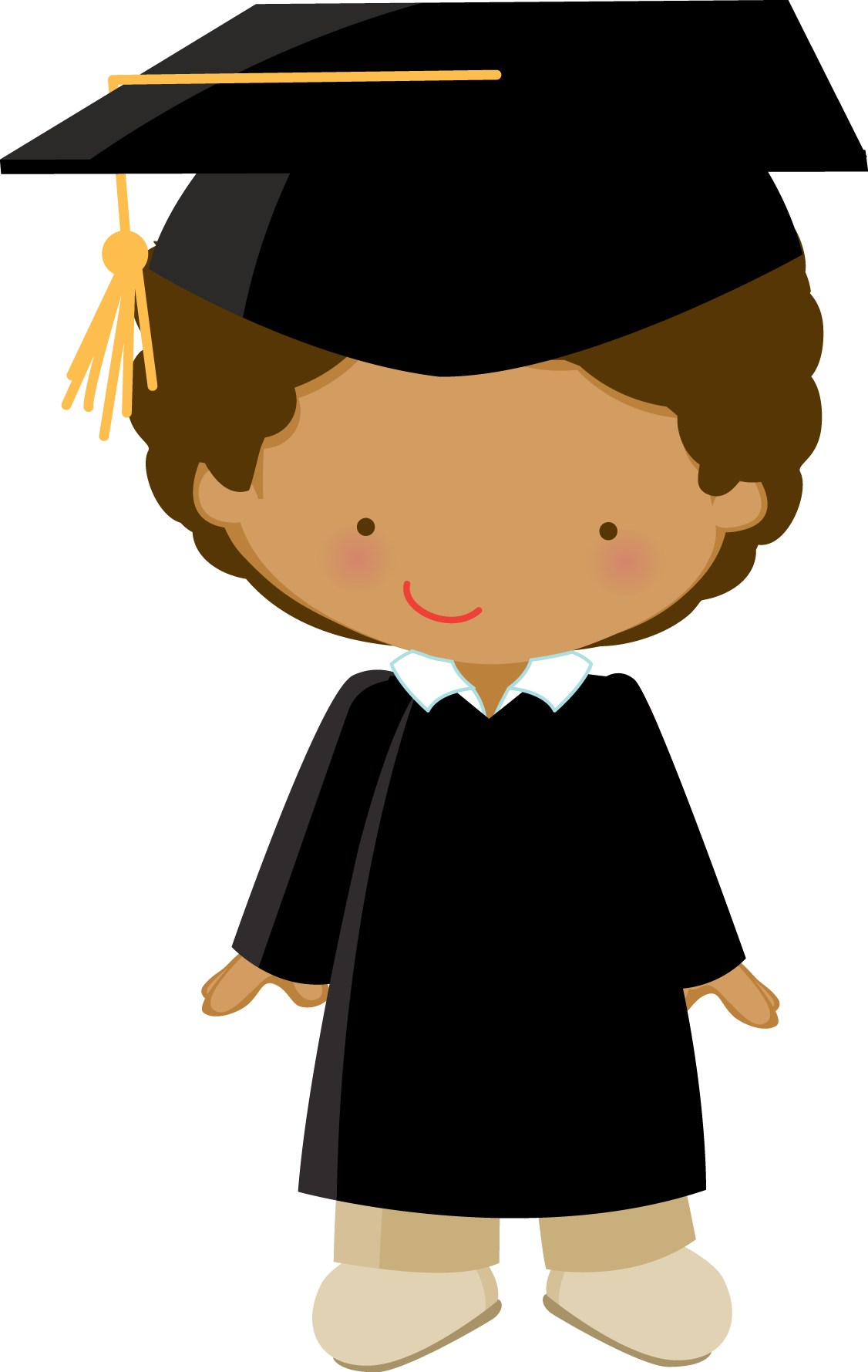 High school graduate clipart freeuse download Little Graduate - ZWD_Boy_02_black.png - Minus | clipart | Pinterest ... freeuse download