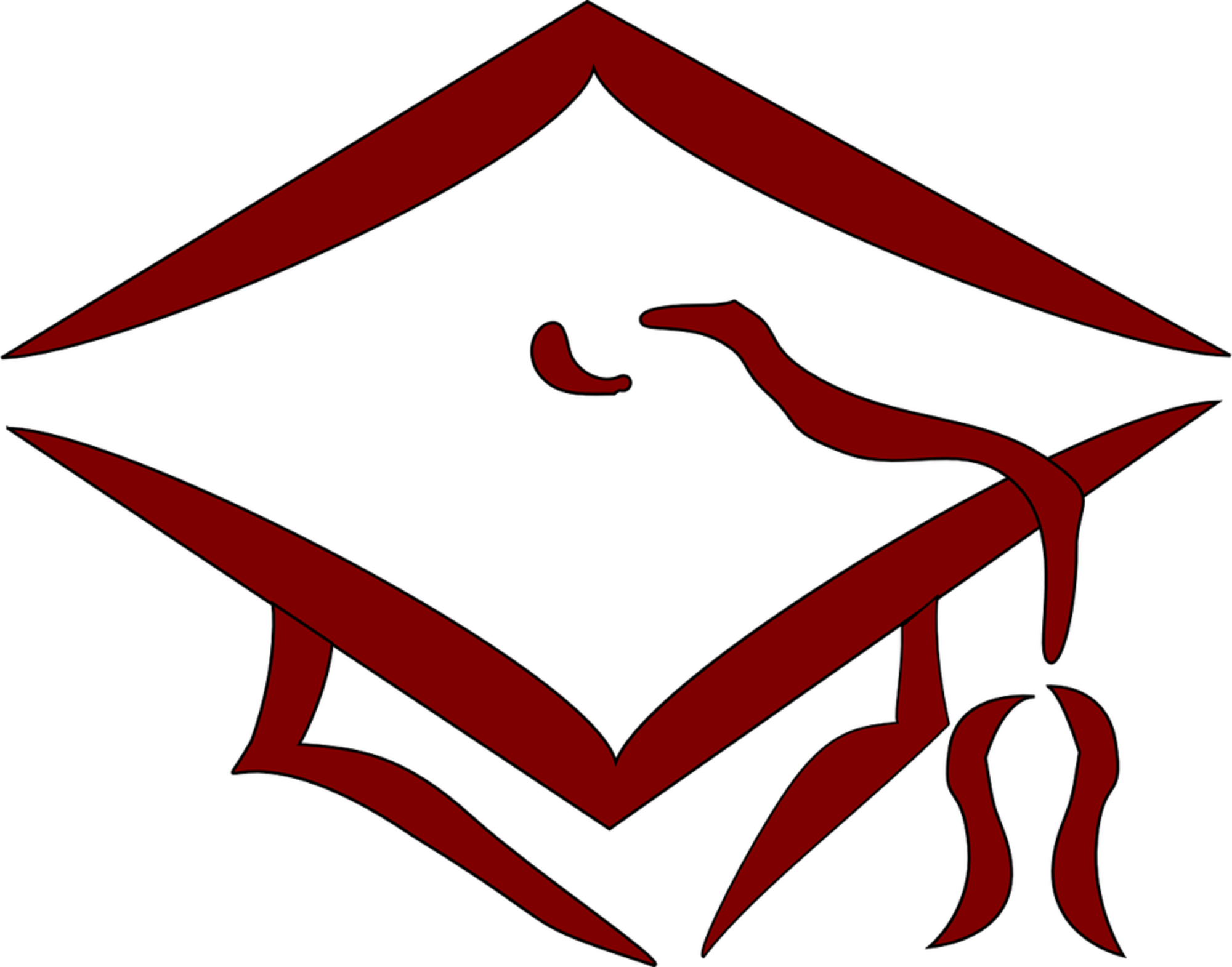Gradation nursing cliparts black and whtie clip art freeuse download Nurse Clipart Diploma Graduation Cap Clip Art - Clip Art Library clip art freeuse download