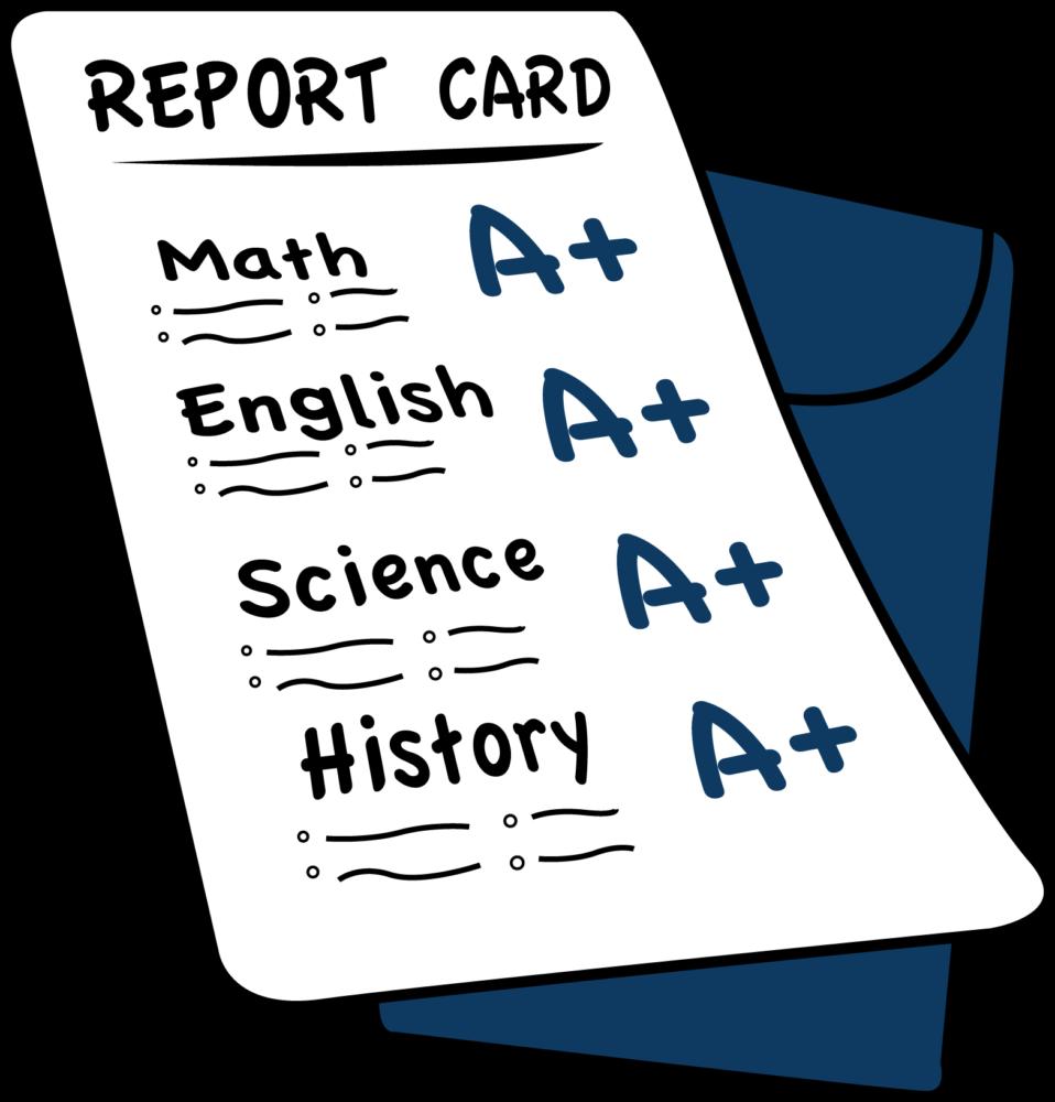 Grades clipart black and white stock Grades clipart 1 » Clipart Station black and white stock
