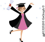 Graduate student clipart svg library Graduate Clip Art - Royalty Free - GoGraph svg library