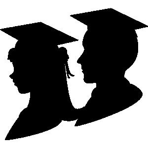 Graduates clipart clipart black and white Free Graduate Cliparts, Download Free Clip Art, Free Clip Art on ... clipart black and white