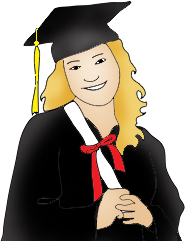 Graduation picture clipart graphic black and white download Graduation Clipart - Free Graduation Graphics graphic black and white download