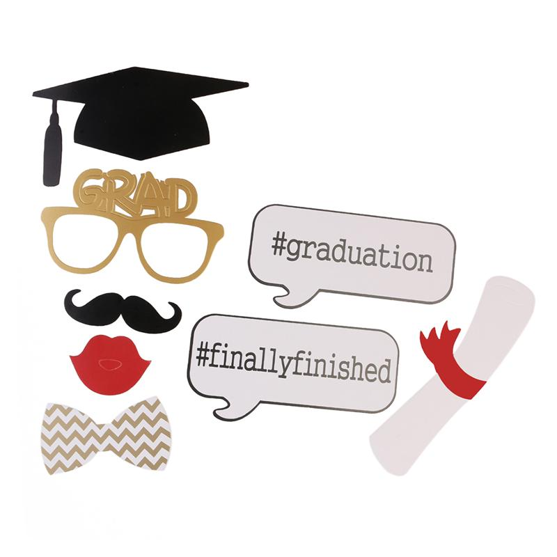 Graduation 2018 party clipart vector black and white stock US $3.51 39% OFF|17pcs Graduation Party Photo Booth Props 2018 Graduation  Party Decorations Attached to the Stick Graduation Favors-in Photobooth ... vector black and white stock