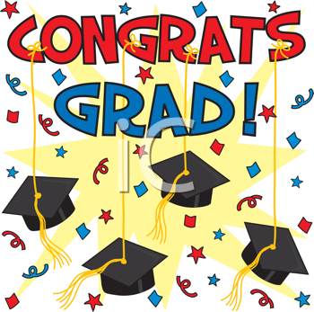 Graduation clipart free picture royalty free stock Royalty Free Clipart Image of a Graduation Background | Graduation ... picture royalty free stock
