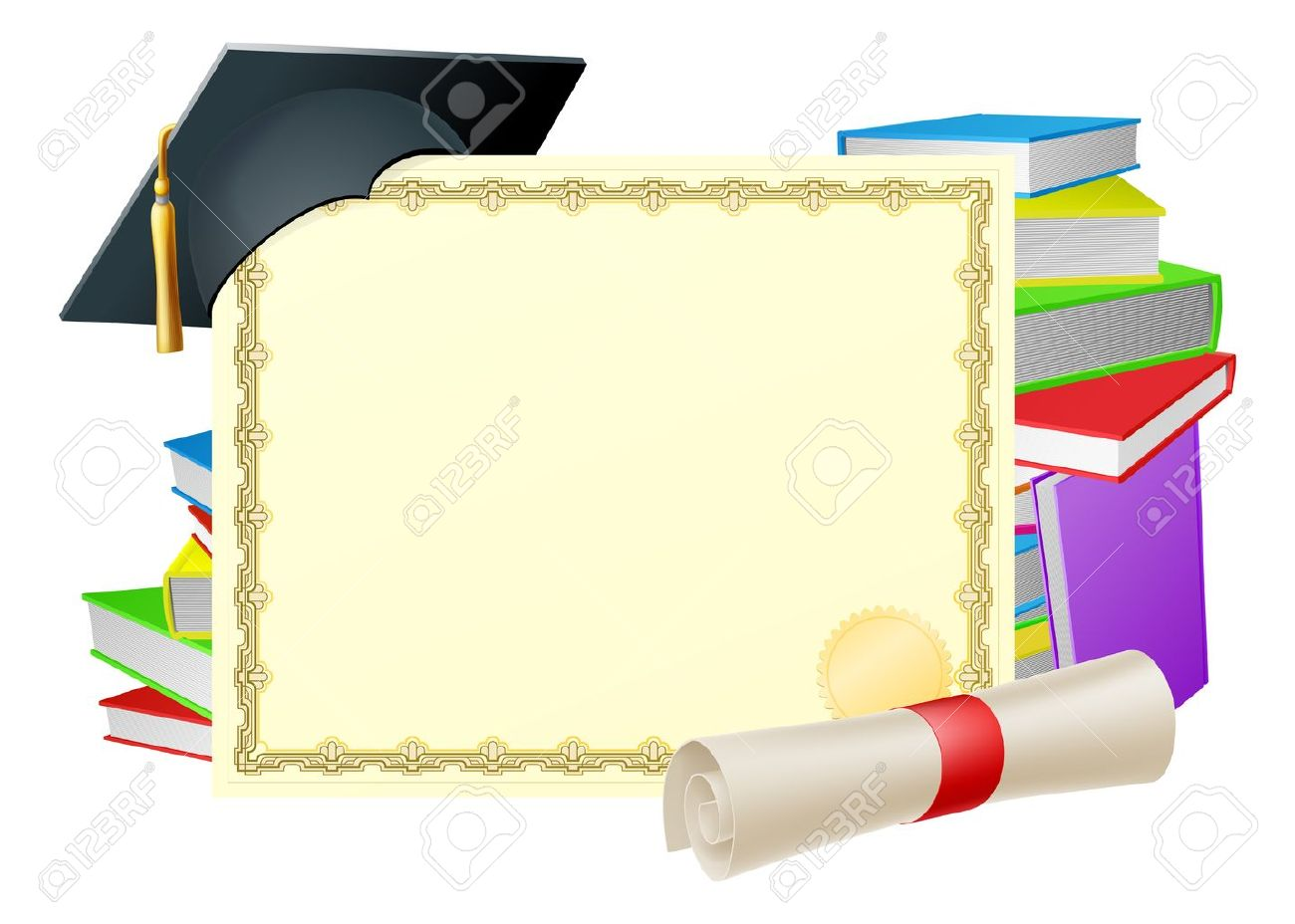 Graduation background clipart picture freeuse library Graduation background clipart 9 » Clipart Station picture freeuse library