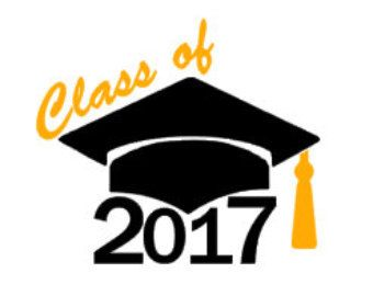Graduation cap 2017 clipart clipart free library Graduation Class of 2017 | Graduation cap decal | Etsy | Vinyl ... clipart free library