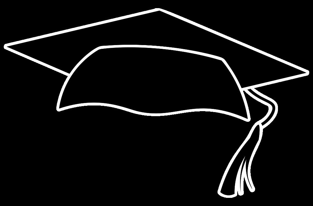 Graduation cap logo clipart banner transparent download OnlineLabels Clip Art - Graduation Cap Icon banner transparent download