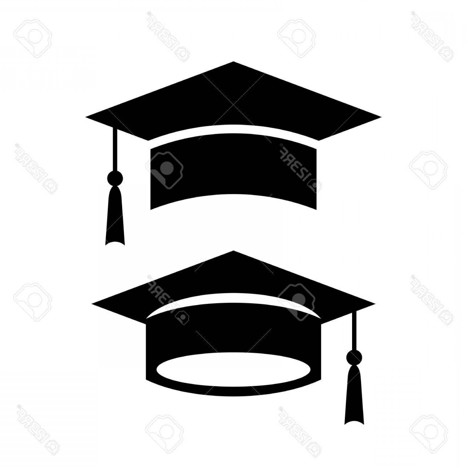 Graduation cap logo clipart clip art freeuse stock Photostock Vector Academic Graduation Cap Vector Icon | SOIDERGI clip art freeuse stock