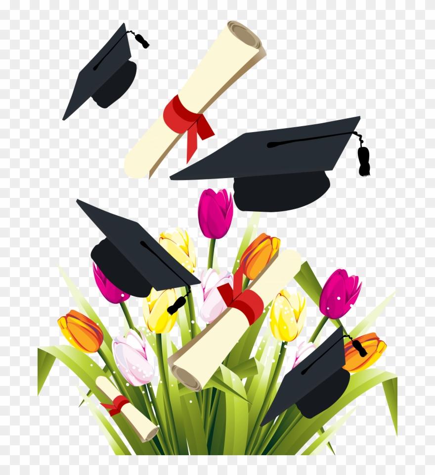 Medium Size Of Floral Graduation Announcements 2019 - Graduation ... clipart library stock