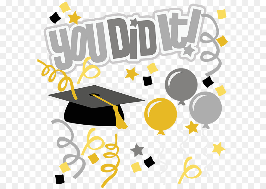 Graduation clipart background clip art royalty free library Graduation Background png download - 648*637 - Free Transparent ... clip art royalty free library