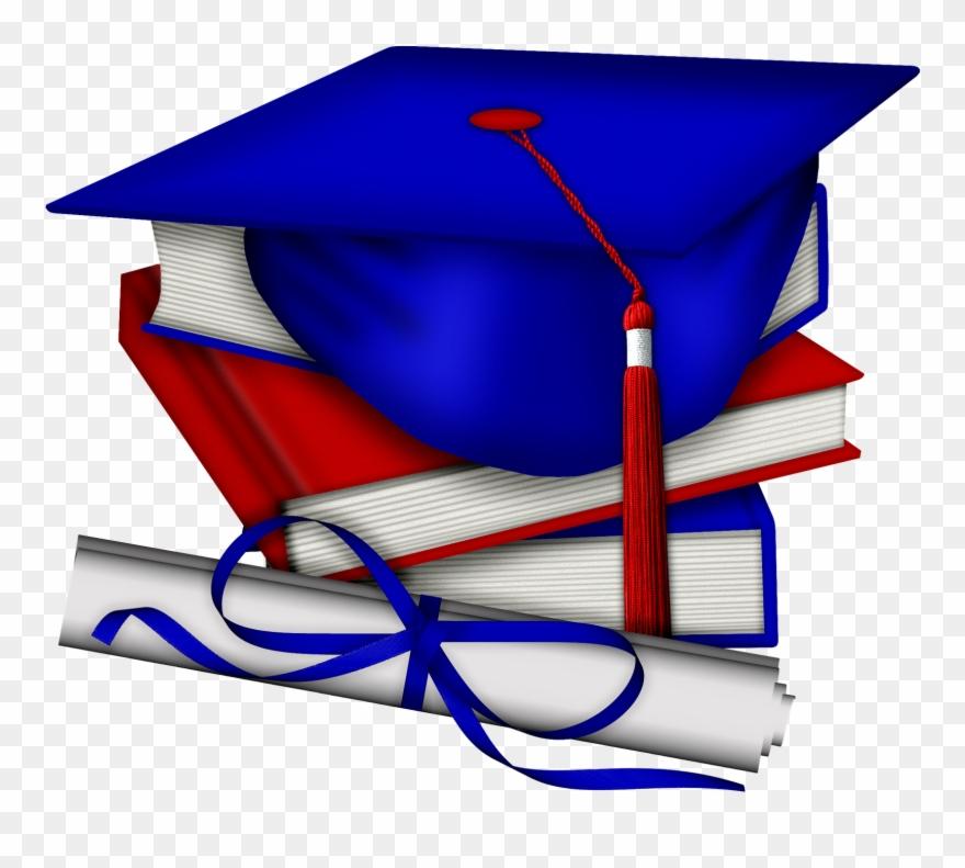 Graduation clipart red vector transparent library Clip Art Graduation - Graduation Red White And Blue - Png Download ... vector transparent library