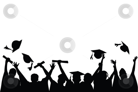 Kids celebration congratulations clipart black and white image free library Free Congratulations Graduate Cliparts, Download Free Clip Art, Free ... image free library