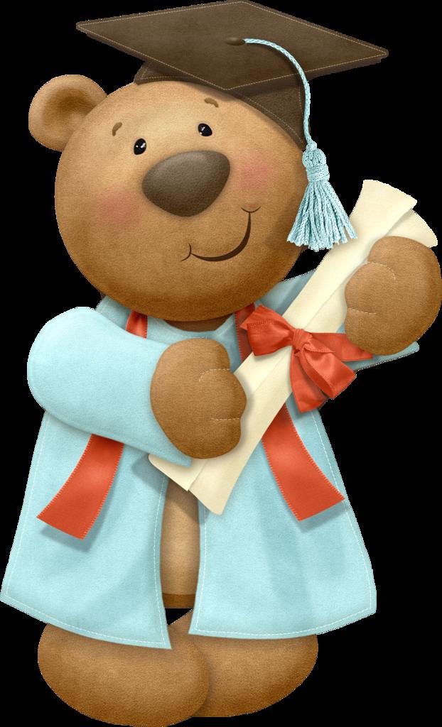 Teddy bear w apple clipart image library library GRADUATION TEDDY BEAR | CLIP ART - T. BEARS #1 - CLIPART | Pinterest ... image library library