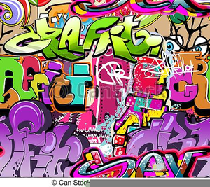 Graffiti clipart images clip black and white Free Graffiti Clipart | Free Images at Clker.com - vector clip art ... clip black and white