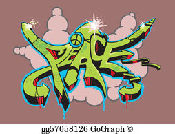 Graffiti clipart images jpg library Graffiti Clip Art - Royalty Free - GoGraph jpg library