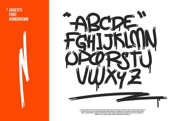 Graffiti scribbles cliparts banner royalty free download Graffiti Hand-drawn Vector Alphabet - Download Free Vectors, Clipart ... banner royalty free download