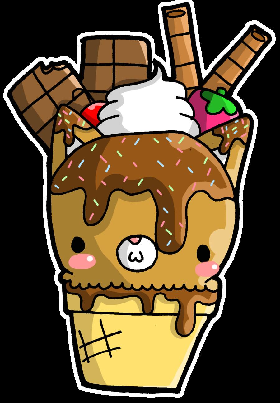 Foxy Fudge Ice Cream by Crystal-Moore.deviantart.com on @deviantART ... banner free stock