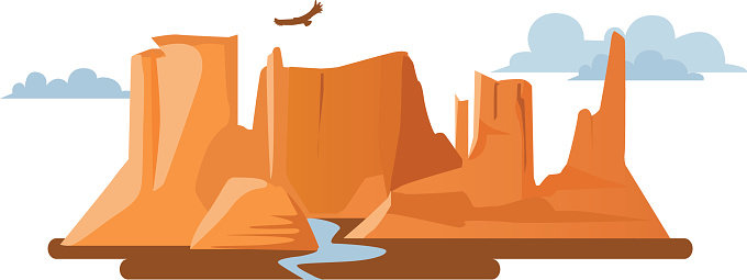 Grand canyon clipart free