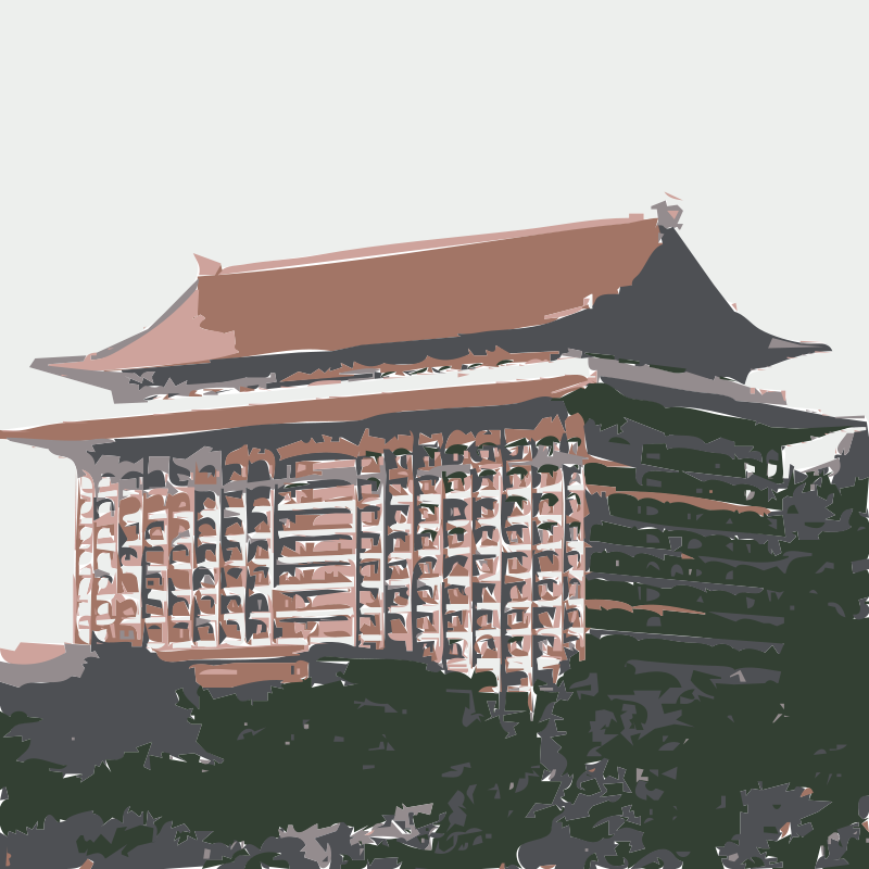 Grand hotel clipart image black and white library Free Clipart: Grand Hotel Taipei (Yuen Shan) | rejon image black and white library