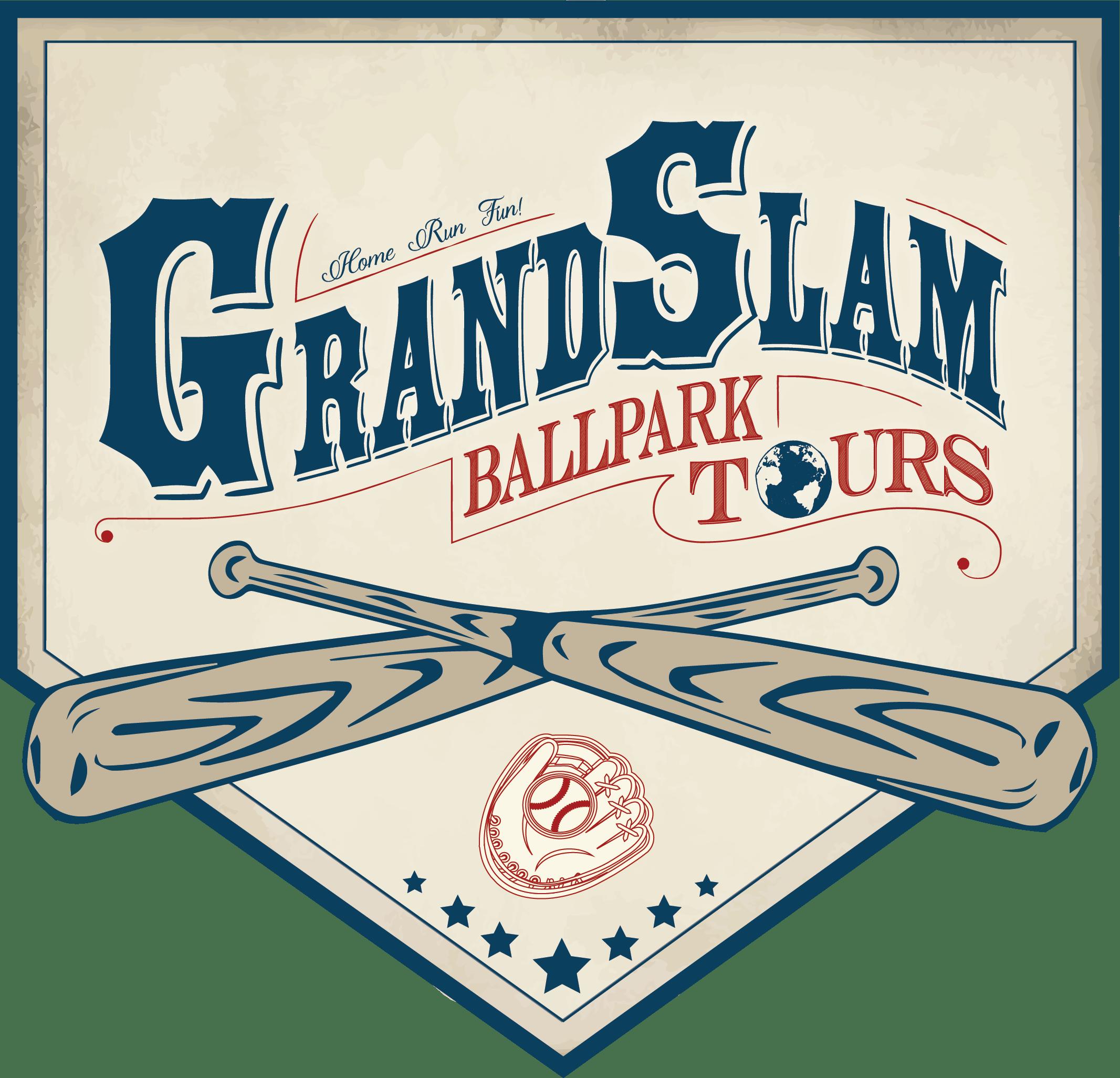 Grand slam baseball wording clipart picture library Grand Slam Ballpark Tours – ChemistCreative picture library