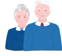 Grandfather and grandmother clipart banner free download Grandparents Clip Art, Grandfather and Grandmother Graphics | Clip ... banner free download