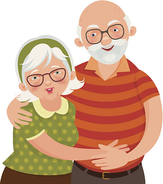 Grandfather and grandmother clipart image transparent download Grandmother and grandfather clipart 6 » Clipart Station image transparent download