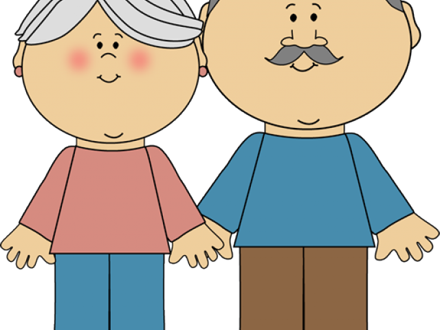 Grandma And Grandpa Clipart - Grandparents Clipart , Transparent ... banner royalty free