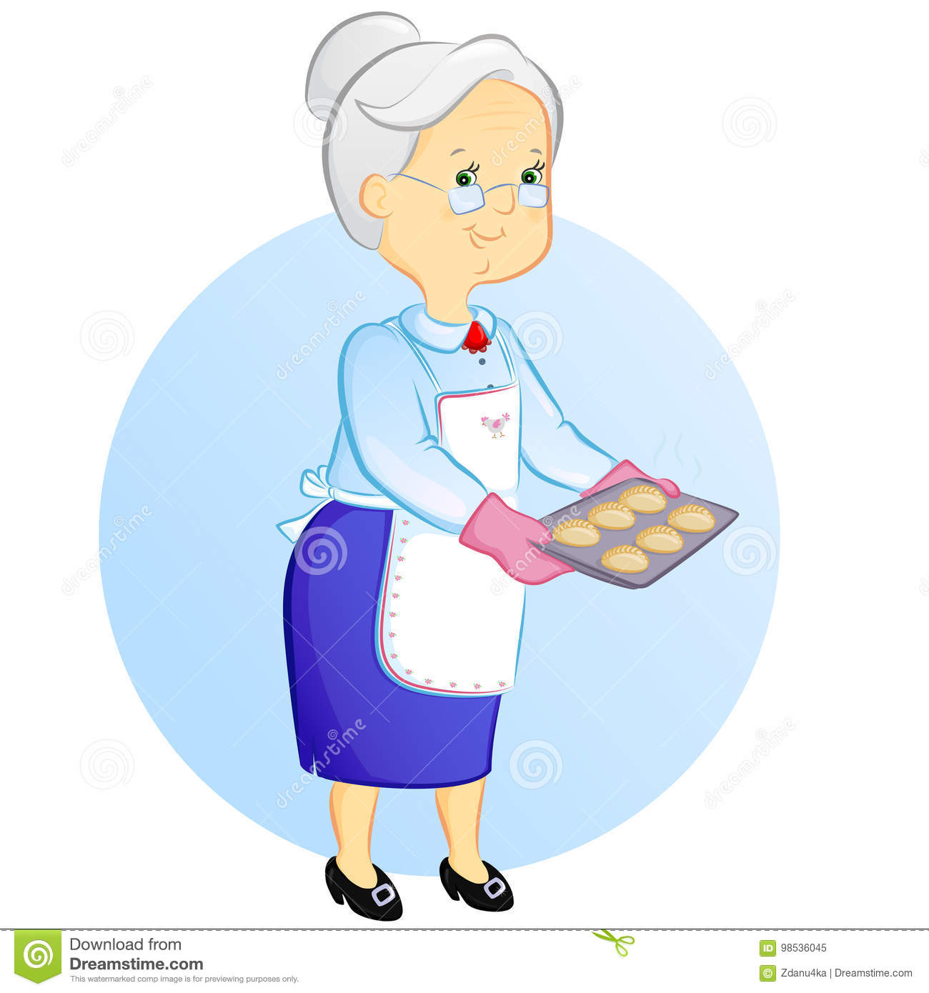 Grandma baking clipart png transparent library Collection of 14 free Sweet clipart grandma aztec clipart vintage ... png transparent library