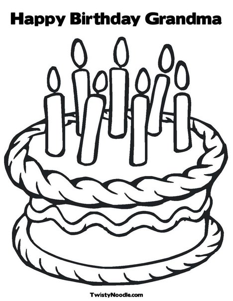 Grandma birthday clipart png free library Happy birthday grandma | Clipart Panda - Free Clipart Images png free library