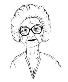 Grandma face clipart black and white image library library Free Grandma Clipart Black And White, Download Free Clip Art, Free ... image library library