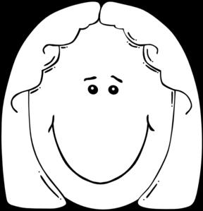 Grandma face clipart black and white banner free library Free Grandma Head Cliparts, Download Free Clip Art, Free Clip Art on ... banner free library
