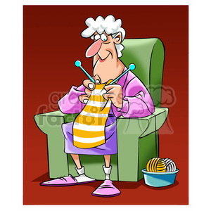 Grandma knitting clipart clip art knitting clipart - Royalty-Free Images | Graphics Factory clip art