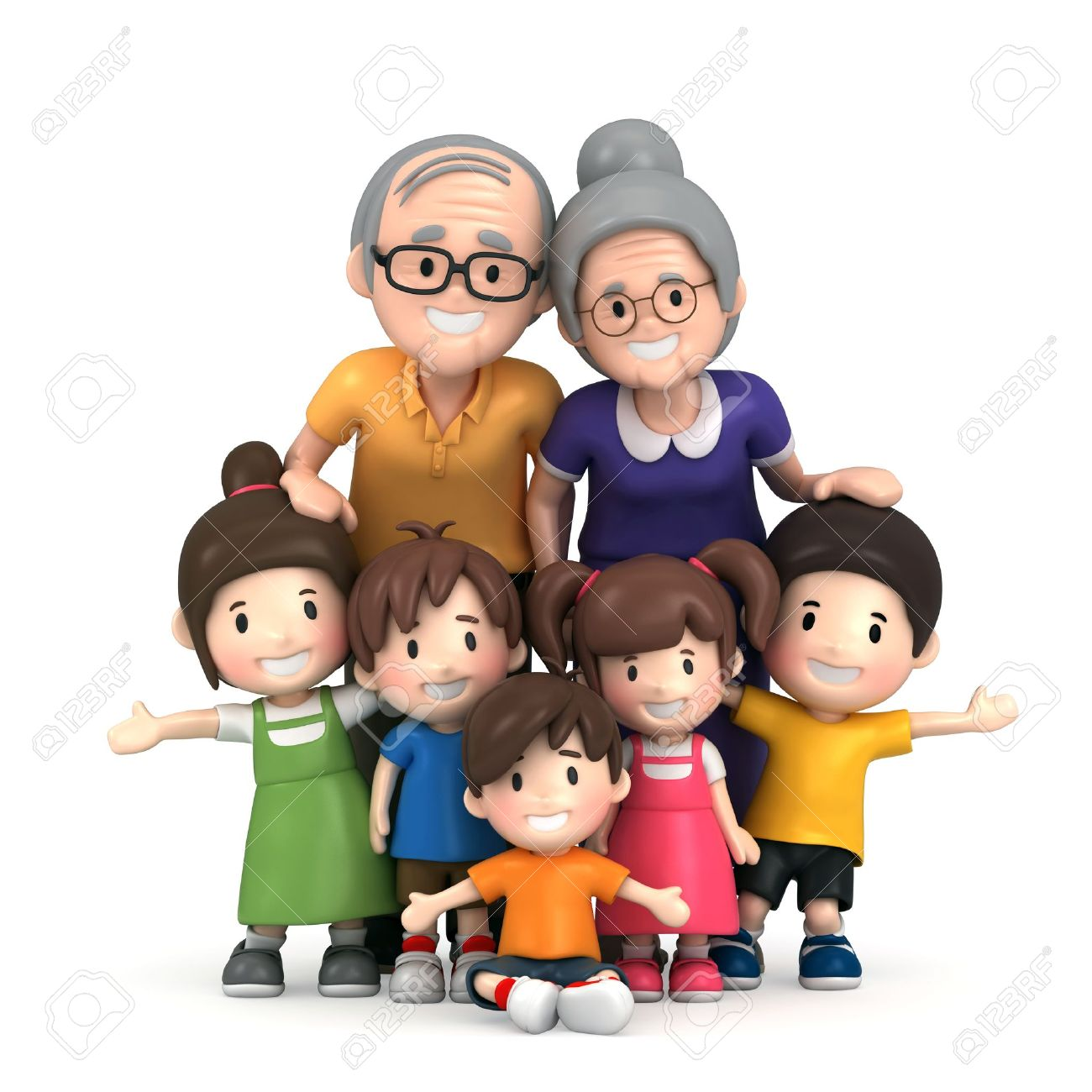 Grandparents with grandchildren clipart svg royalty free stock Grandparents with grandchildren clipart 9 » Clipart Station svg royalty free stock
