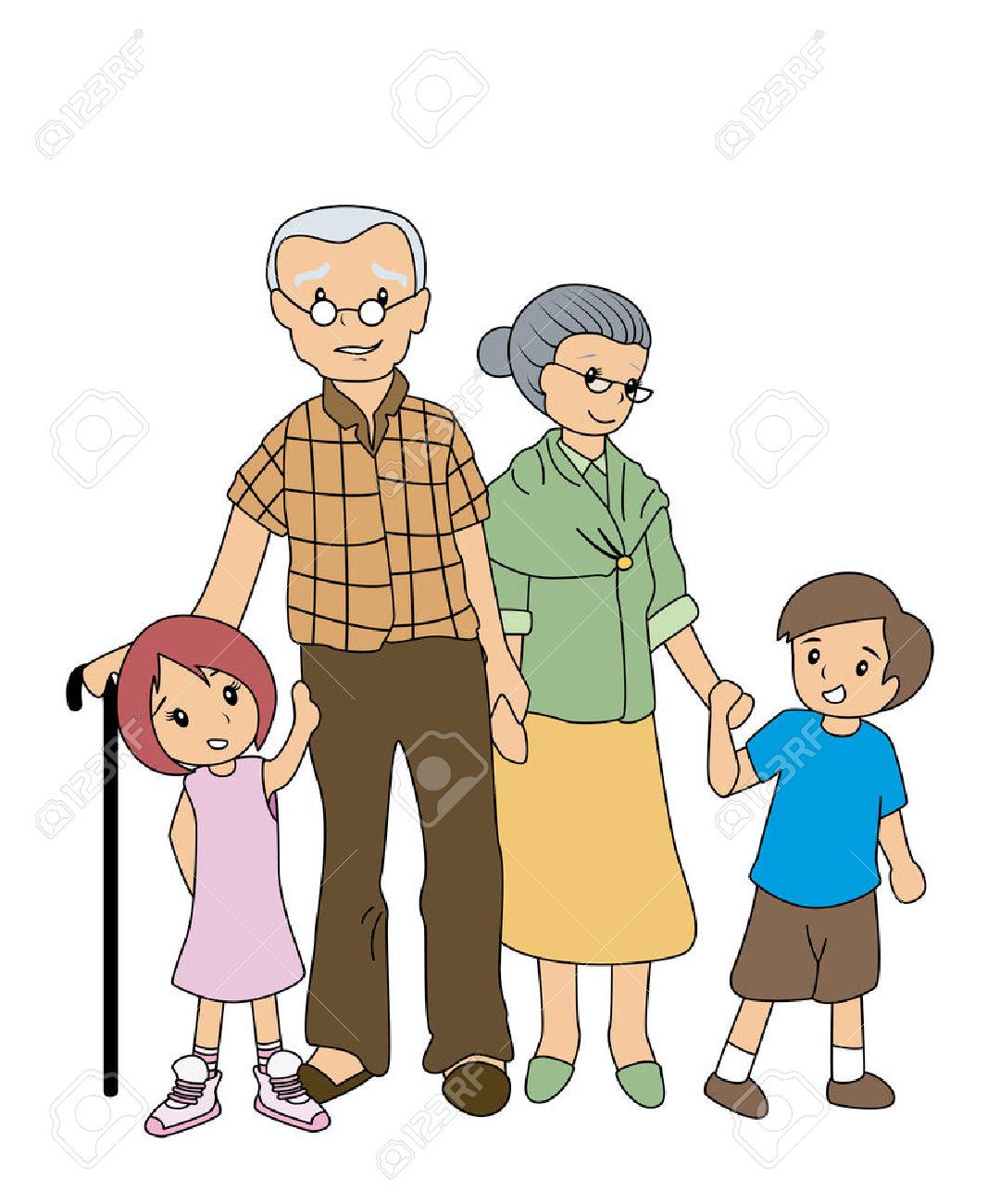 Grandparents with grandchildren clipart royalty free download Grandparents with grandchildren clipart 6 » Clipart Station royalty free download