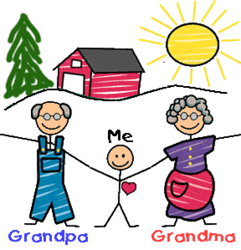 Grandparents house clipart picture library download 28+ Collection of Grandparents Drawing For Kids   High quality, free ... picture library download