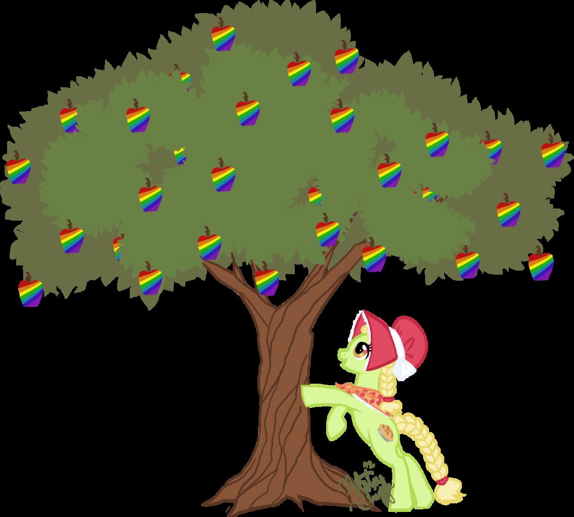 Granny smith apple tree clipart jpg freeuse download 120518 - apple, artist:emeralddarkness, granny smith, safe, simple ... jpg freeuse download