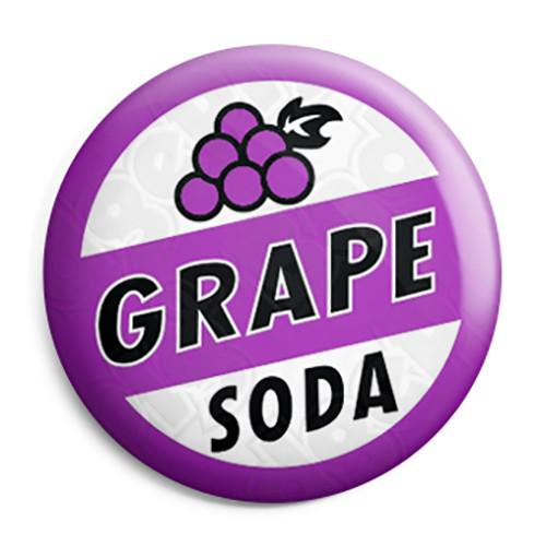 Grape soda pin clipart clip art Grape Soda - Ellie\'s Up Movie Bottle Top Button Badge, Fridge Magnet ... clip art