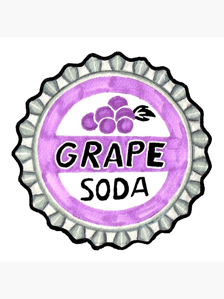 Grape soda pin clipart graphic freeuse up grape soda pin | Art Board Print graphic freeuse