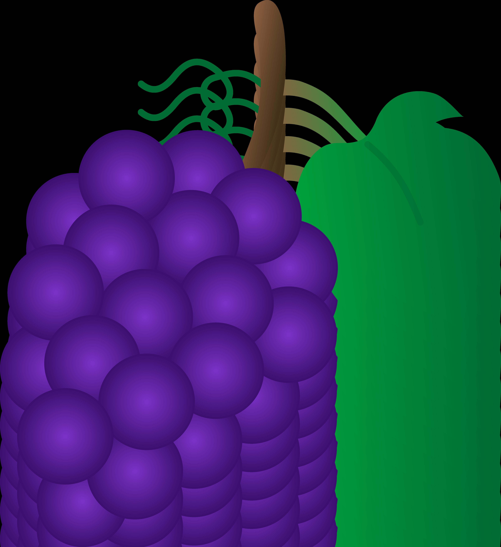 Grape tree clipart clip art free stock Cartoon Grapes Clipart clip art free stock