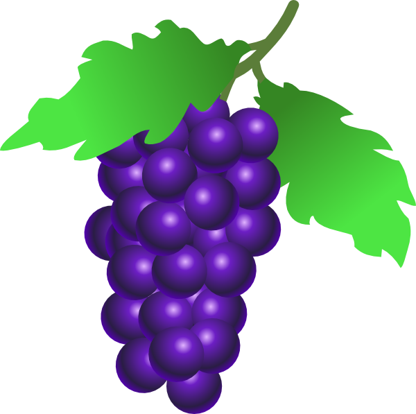 Grape tree clipart graphic library Grapes Vine Clip Art at Clker.com - vector clip art online, royalty ... graphic library