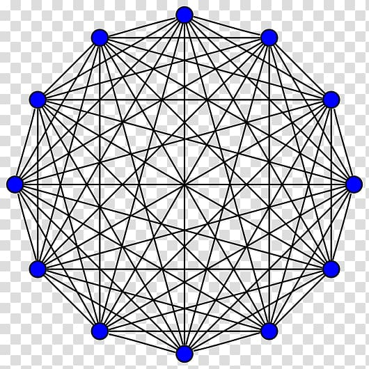 Complete graph Vertex Graph theory Edge, tree top transparent ... png library library